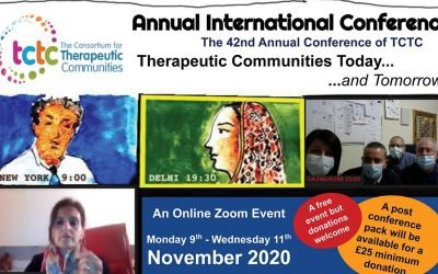 The 42nd Annual Conference of The Consortium for Therapeutic Communities (TCTC), i nostri contributi